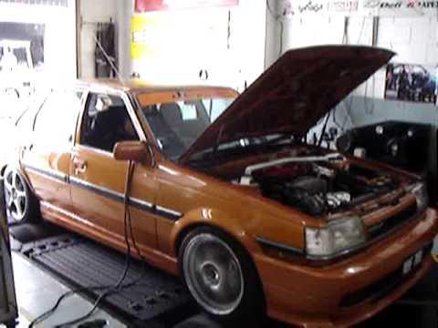 Динамо-тест двигателя 3S-GE на Toyota Corona