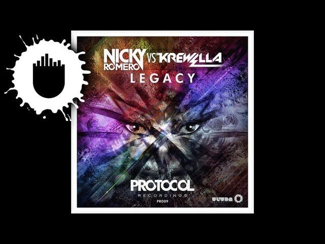 Nicky Romero vs. Krewella - Legacy (Radio Edit) (Cover Art)