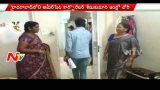 Theft in Ameerpet Corporator's House