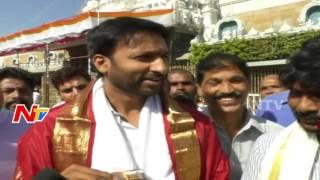 Hero Gopichand visits Tirumala, Responds on Tollywood Dru..