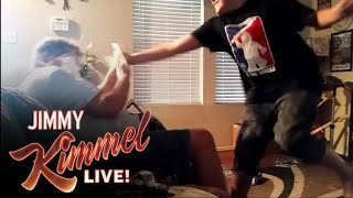 YouTube Challenge: Hey Jimmy Kimmel, I Played Catch with My Dad
