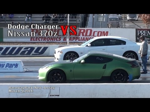 Nissan 370z vs Dodge Charger