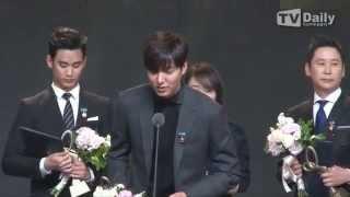 141117 Lee Min Ho @ 2014 Korean Popular Culture & Arts