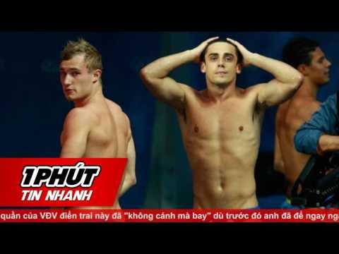 Olympic Rio 2016 - Trai đẹp người Anh lộ hàng sau khi giành HCV bơi lội