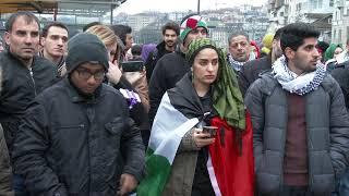 روبورطاج يسلط الضوء على الوقفة الاحتجاجية المنظمة بزوريخ من قبل عرب ومسلمي سويسرا ضد قرار الرئيس الامريكي ترامب |