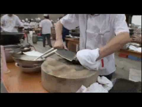 Speed Cooking in China, Chinese Cooking Competition - ART or CRUELTY u decide............