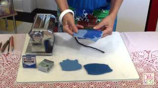 Polymer Clay Quick Tip How To Make Denim