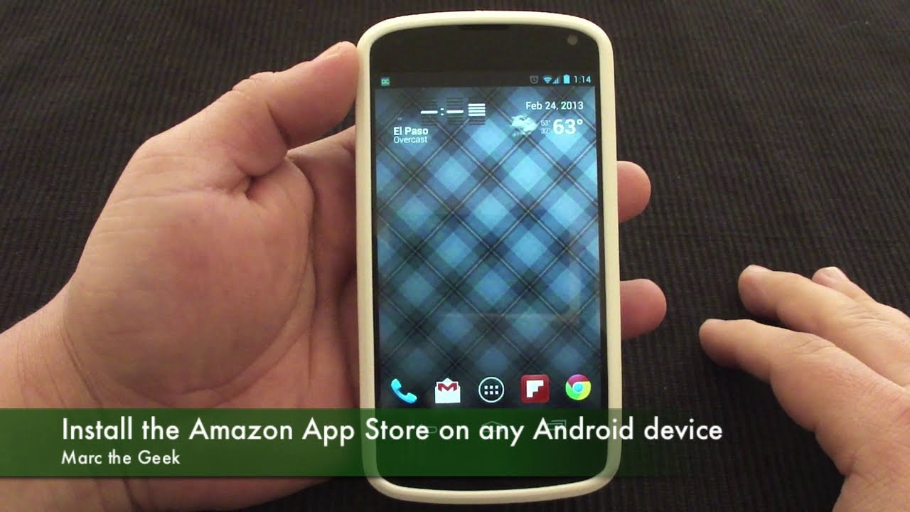 download amazon appstore for android phone remote