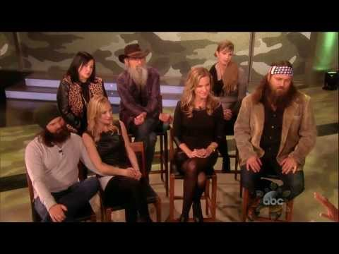 'Duck Dynasty' Cast Talks Sex Appeal, Becoming Reality Royalty