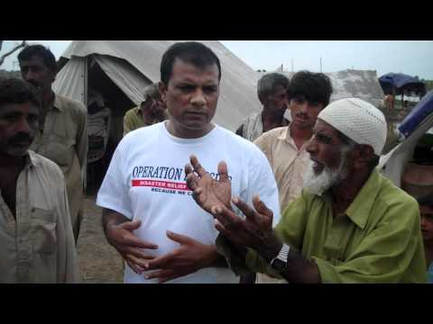 flood affected people telling their needs and requesting for rehablitations
