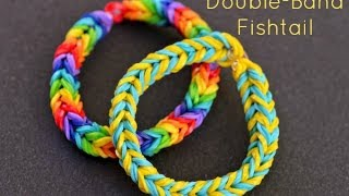 How To Make A Double Band Fishtail Bracelet