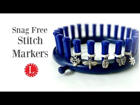 LOOM KNITTING Snag Free Stitch Markers