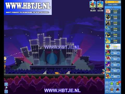 Angry Birds Friends Tournament Week 70 Level 3 high score 116k (tournament 3) Rock in Rio