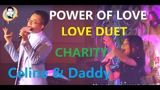 The Power Of Love - Celine Tam and Dr. Steve at Po Leung Kuk Charity Dinner