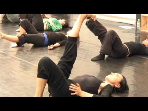 Images du stage de la Technique Alexander/danse classique Wayne Byars/Luigia Riva