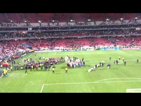Real Madrid vs Atletico Madrid 4-1 Champions League Final 2014 - Celebrations