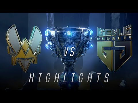 VIT vs GEN - Worlds Groups Stage Day 5 Match Highlights (2018)