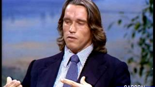 Johnny Carson: Arnold Schwarzenegger on Women's Bodies, 1979