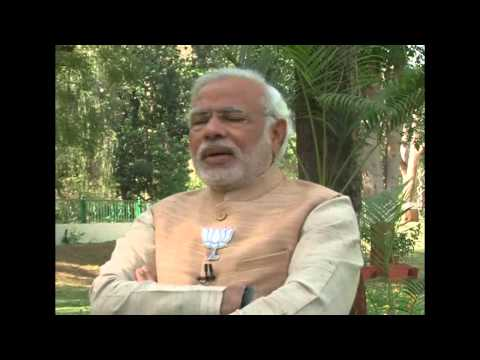 Shri Narendra Modi's interview with Doordarshan
