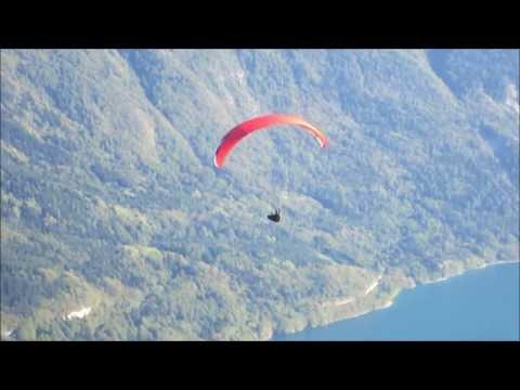 Wochenendtrip zum Gleitschirmfliegen nach Molveno und ins Stubaital 9-2013