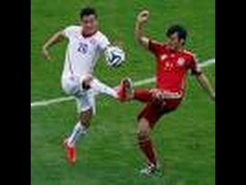 Spain vs Chile win 2-0 WORLD CUP 2014