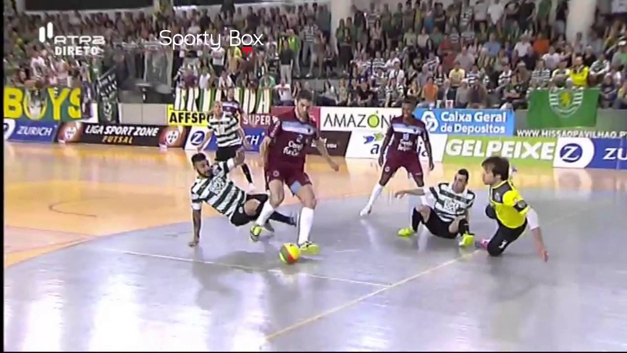 Futsal :: Play-off Final 2º Jogo :: Sporting - 4 x Fundão - 2 de 2013/2014