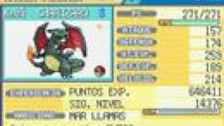 Pokemon Fire Red: Shiny Charizard