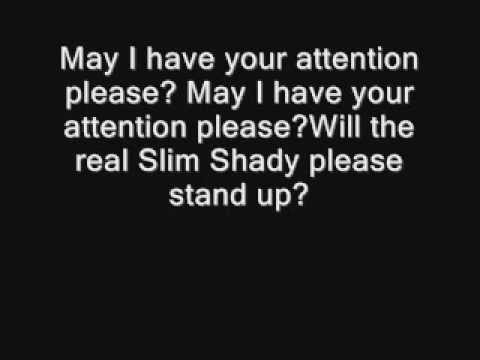 Eminem – The Real Slim Shady (Clean) Lyrics | Genius Lyrics