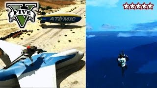 GTA 5 Glitches SUPER BIKE JUMP & CARGO PLANE!!! GTA