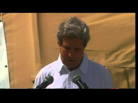 Secretary Kerry Delivers Remarks on Typhoon Aid to Tacloban