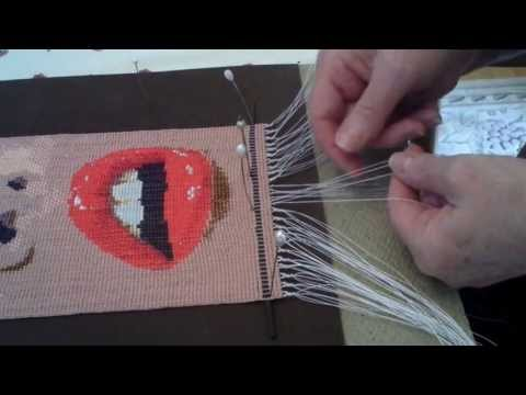 Instructional video on beadweaving