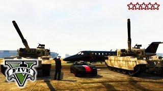 "GTA 5 VIP Delivery!!! - Mercenery Service!! ""GTA 5"" - Grand Theft Auto V Tanks and Helicopter"