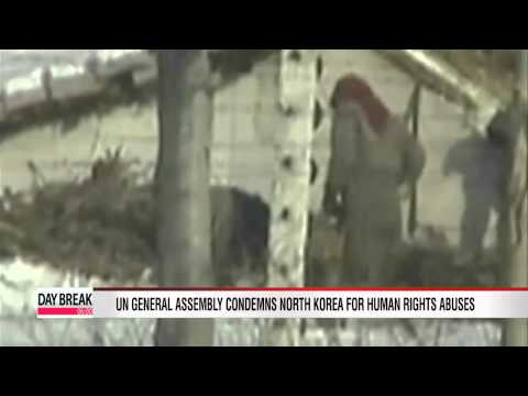 UN General Assembly condemns North Korea for human rights abuses
