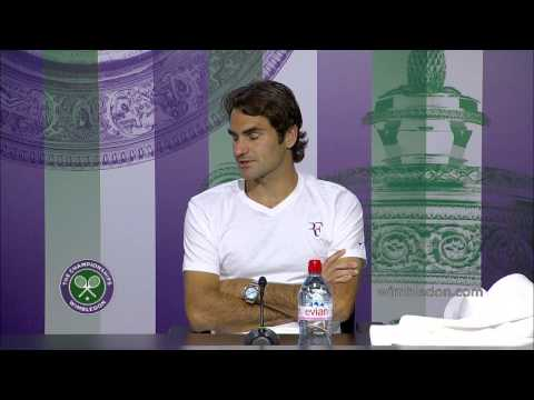 Roger Federer feels in 'tip-top' shape - Wimbledon 2014