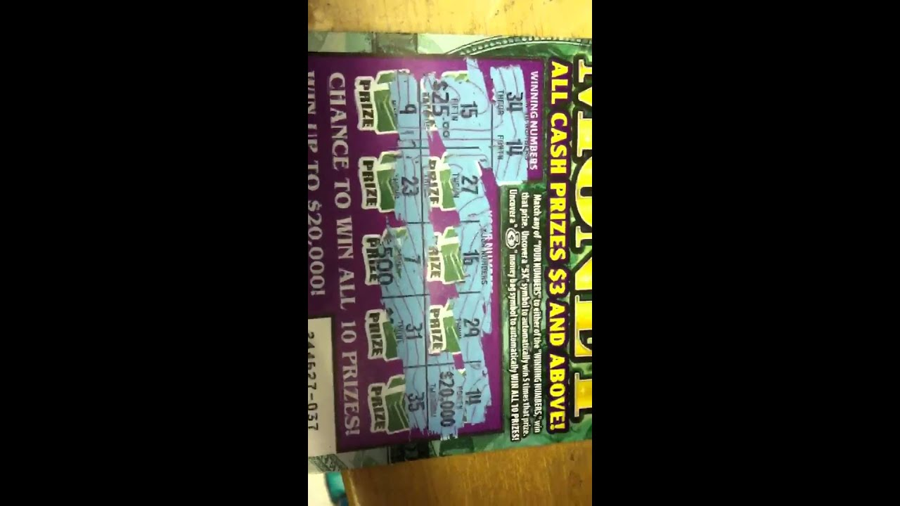 california lottery scratcher