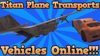 GTA 5 Online: MYTHBUSTERS - Is Titan Plane A Cargo Plane? Cargo Plane Solved (Grand Theft Auto 5)