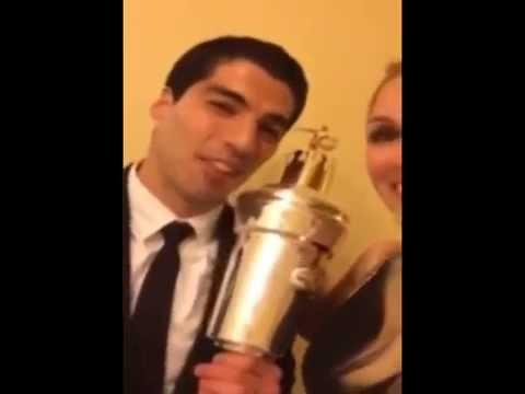 Luis Suárez, Mejor jugador del año en la Premier League de Inglaterra