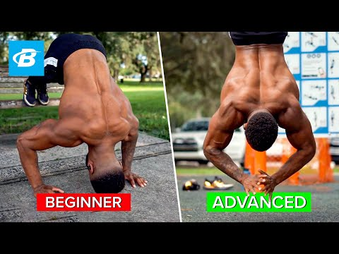 Handstand Pushups for Beginners with Progression | Austin Dunham