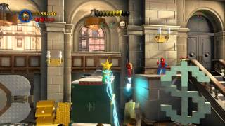 LEGO Marvel Super Heroes A Shock Withdrawal 100% Guide