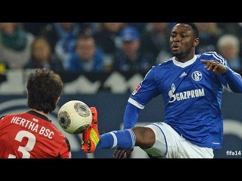 FC Schalke 04 - Hertha BSC Berlin 2-0   Bundesliga 28. Spieltag   28. März 2014   pes14