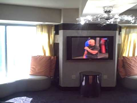 planet hollywood 2 bedroom penthouse suite las vegas youtube