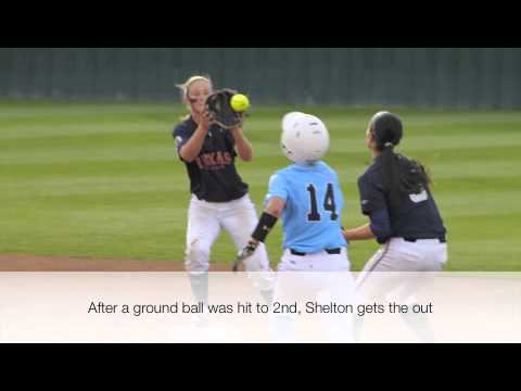 Patriot softball vs ETBU - Shelby Shelton
