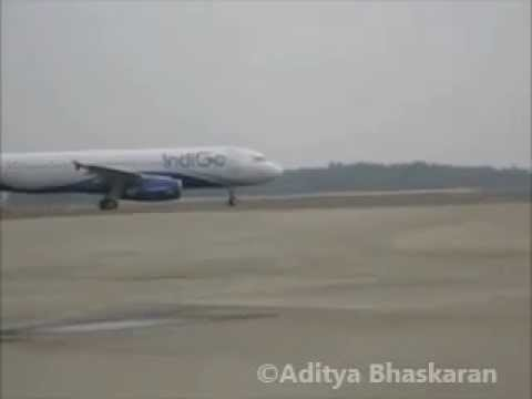 Indigo airline Taxiing