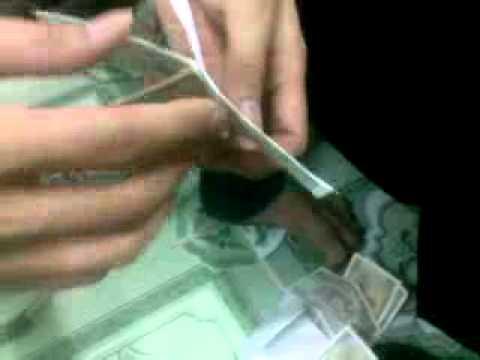 Hướng dẫn biến giấy thành tiền