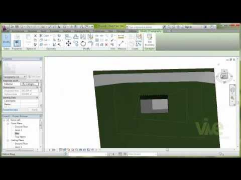 "Tutorial: ""Topography in Autodesk Revit Architecture 2013"""