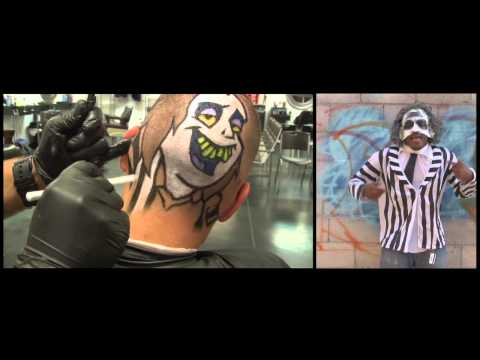 BEETLE JUICE RAP - PAINTING - HAIRCUT