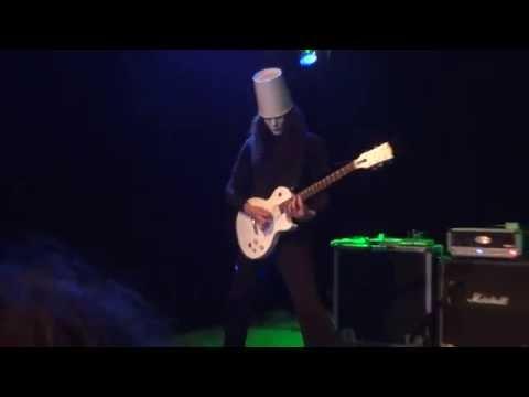 Buckethead - Jordan live Vinyl Music Hall Pensacola Florida 011  05 / 31 / 2016
