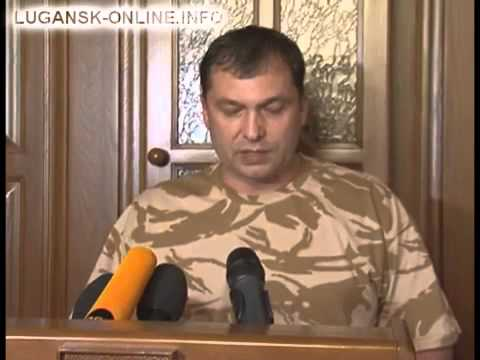 Valeriy Bolotov, the head of LPR, tells about the situation