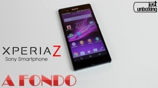 Sony Xperia Z Análisis Completo Just Unboxing
