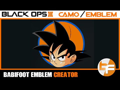 Black Ops 3 PaintShop Tutorial #003 - Son Goku |  Babifoot